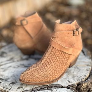 Free People venture desert sand suede ankle boot